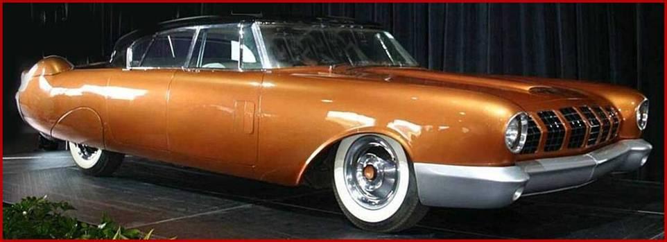1954 MERCURY Concept - D524 - never shown to public